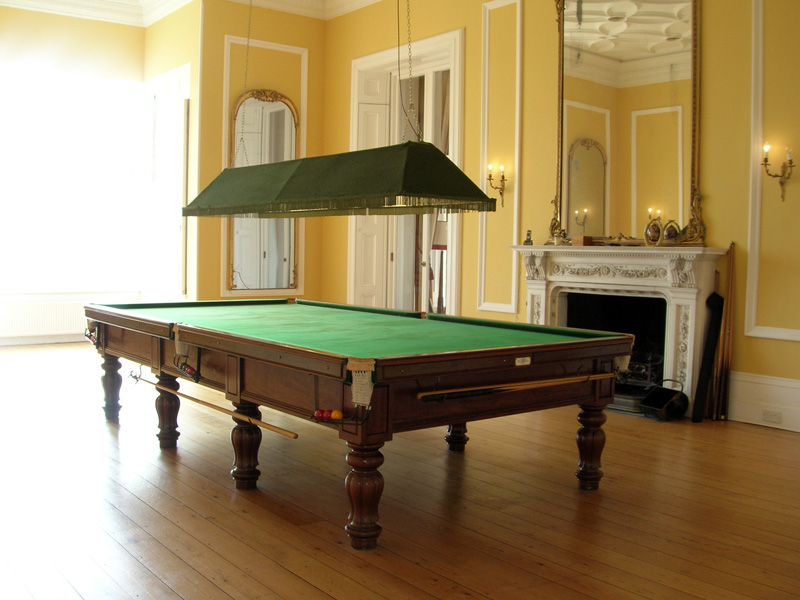 George Wright Tulip Leg Billiard Table