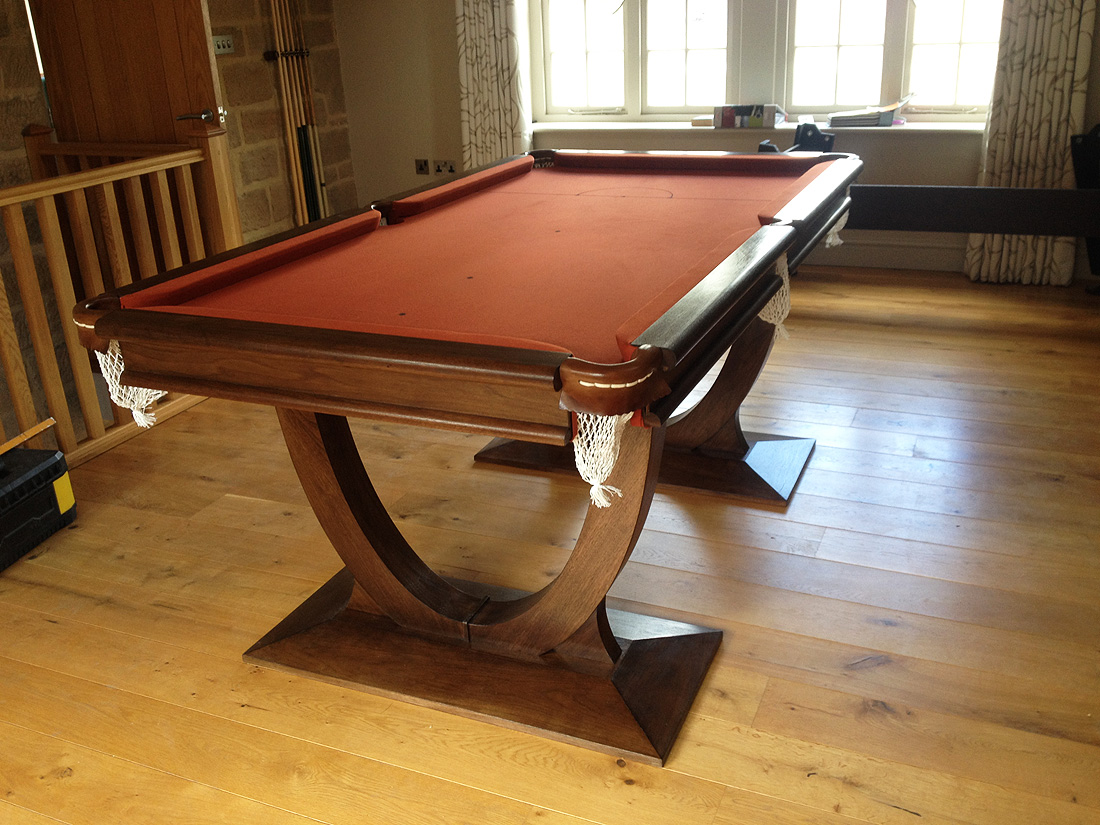 Custom Pool Table - Omega Pool Dining Table